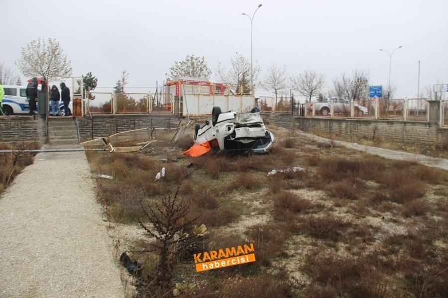 Konya'da Trafik Kazası 1 Ölü 6