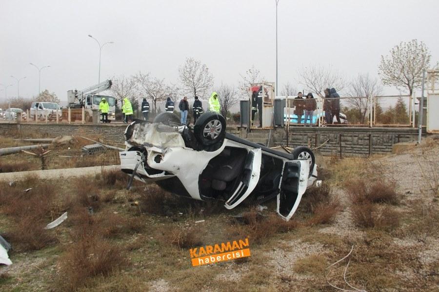 Konya'da Trafik Kazası 1 Ölü 7