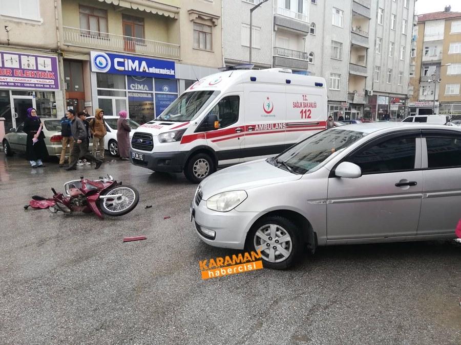 Karaman'da Trafik Kazası 2