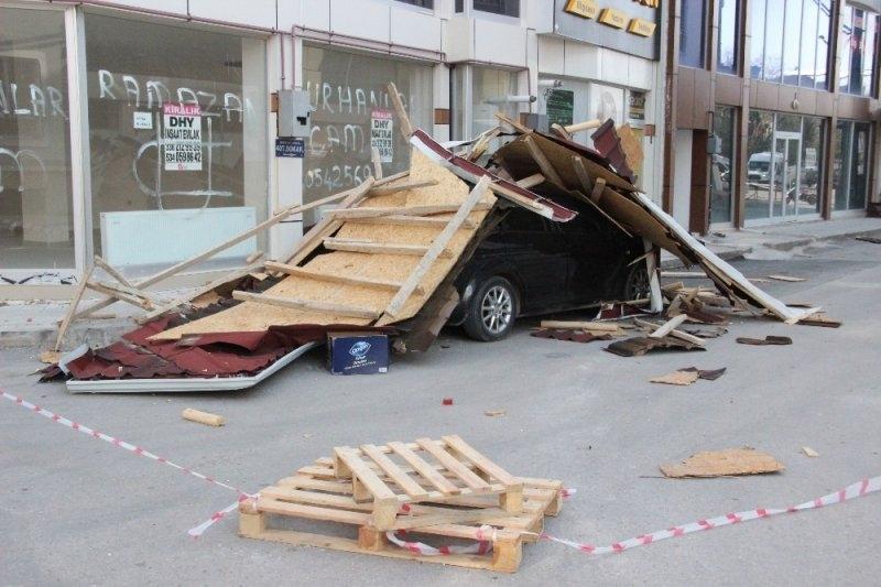 Karaman'da Şiddetli Rüzgar 5