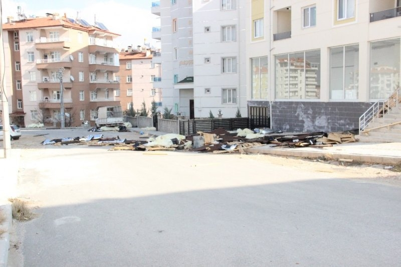 Karaman'da Şiddetli Rüzgar 7