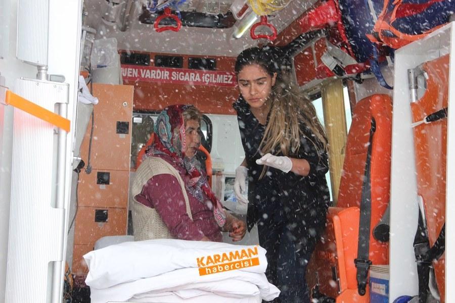 Karaman'da Yolcu Otobüsü Devrildi: 25 Yaralı 1
