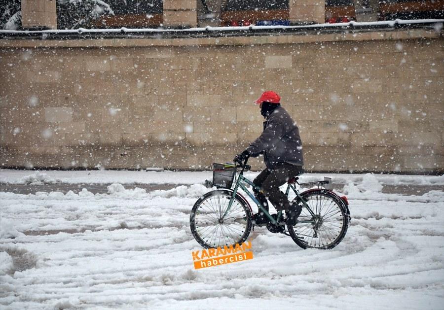 Karaman kar yağışlı 34
