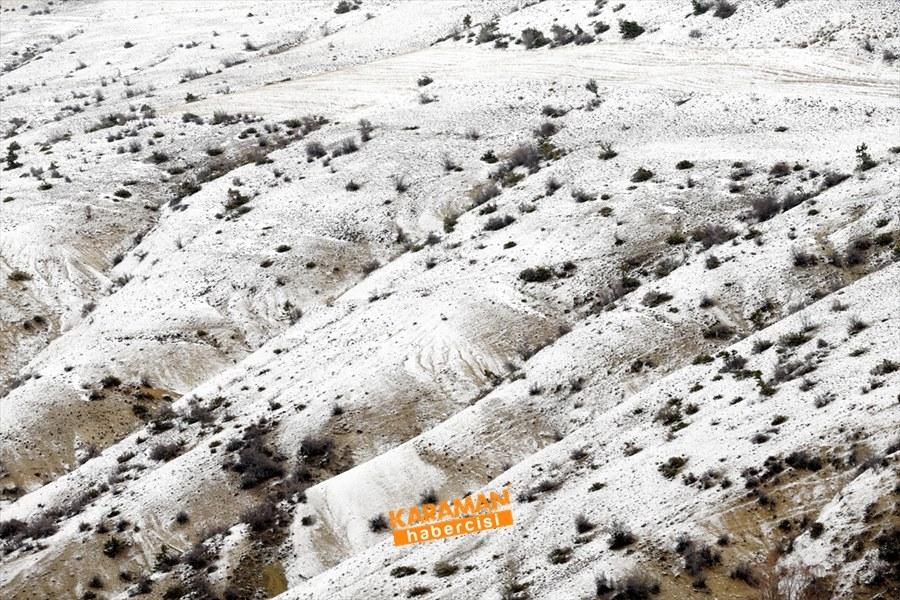 Konya'da Kar Yağışı 1