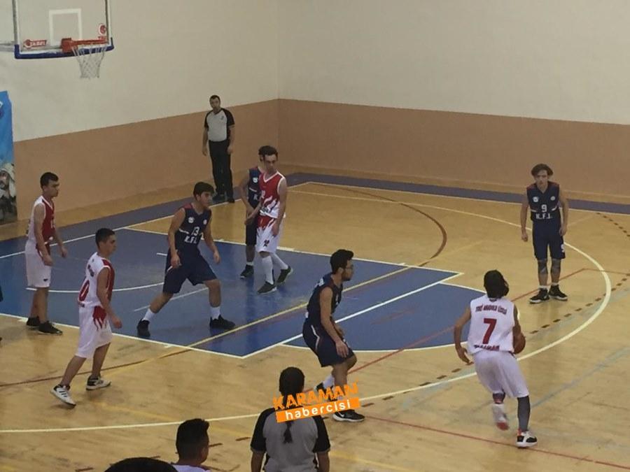 Karaman TOBB Fen Lisesi Basketbol Takımı İl Birincisi Oldu 2