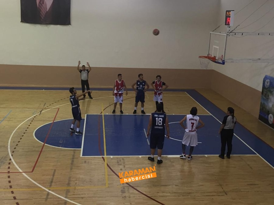 Karaman TOBB Fen Lisesi Basketbol Takımı İl Birincisi Oldu 4