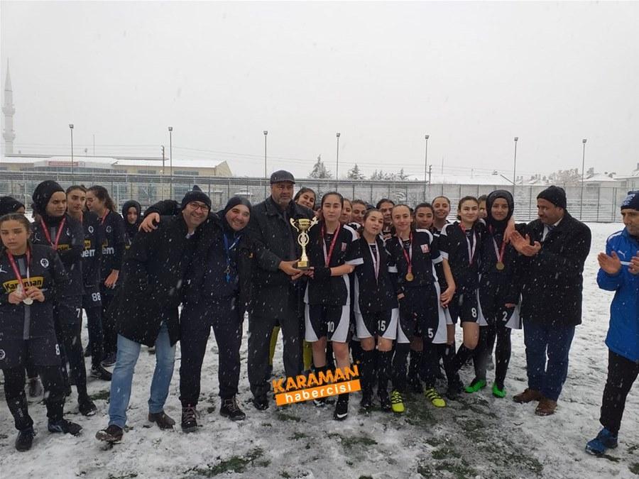 Karaman Okullar Arası Futbol Maçları 1