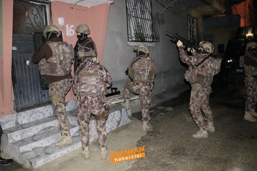 Adana Merkezli Torbacı Operasyonu Karaman'a da Sıçradı 1