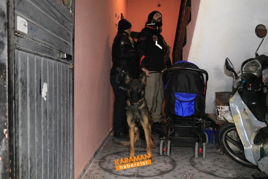 Adana Merkezli Torbacı Operasyonu Karaman'a da Sıçradı 3