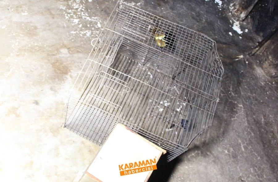 Karaman'da Ev Yangını 11