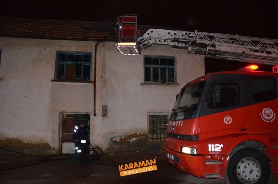 Karaman'da Ev Yangını 2