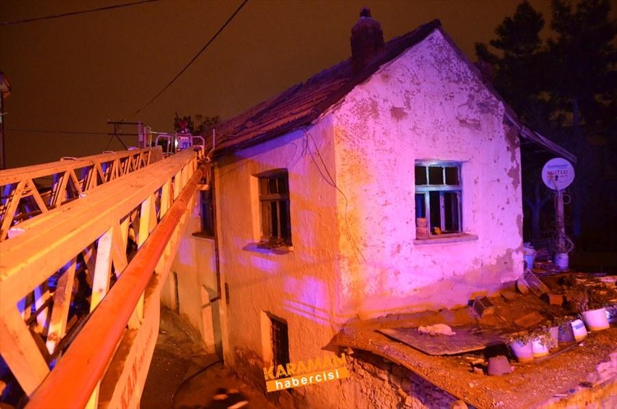 Karaman'da Ev Yangını 4