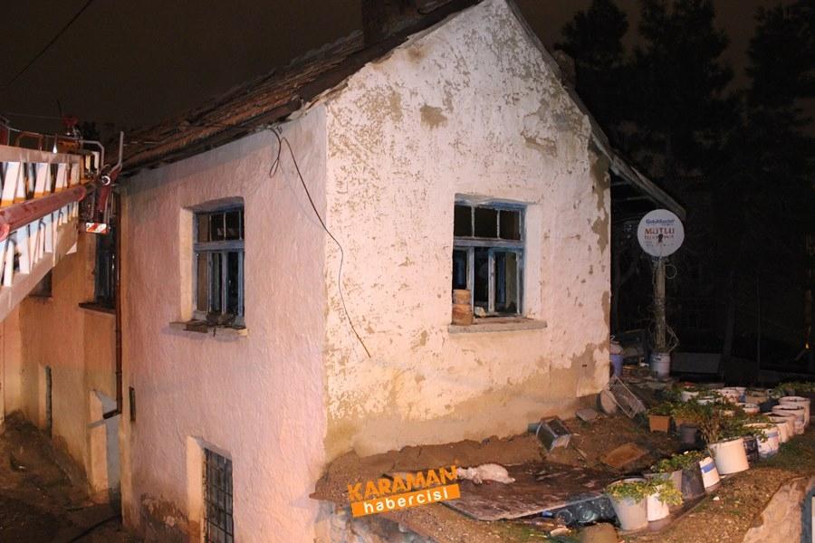 Karaman'da Ev Yangını 7