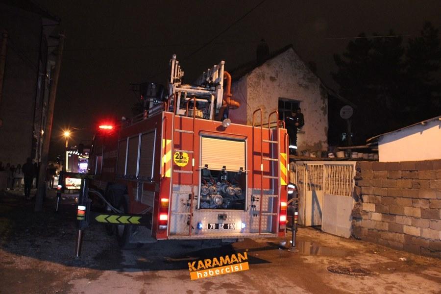 Karaman'da Ev Yangını 8