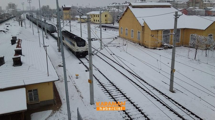 Karaman'da Kar Yağışı 30