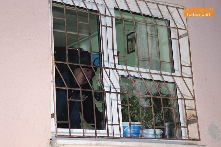 Karaman'da Eve Ateş Açılması 5