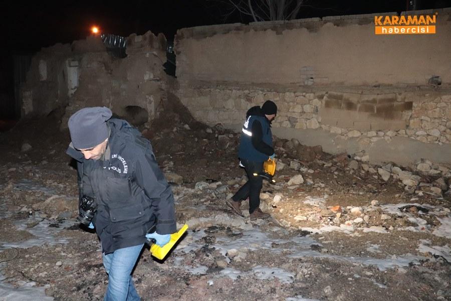 Karaman'da Eve Ateş Açılması 7