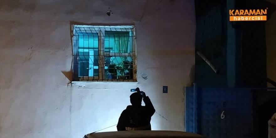 Karaman'da Eve Ateş Açılması