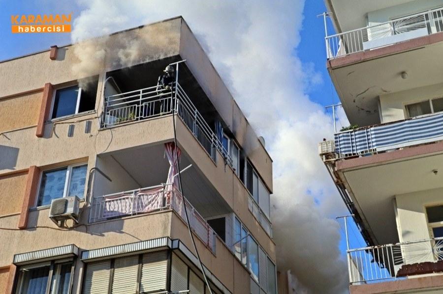 Antalya'da Yangın 1