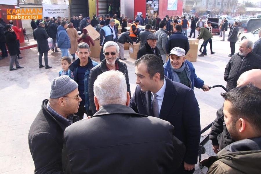 Karaman'da Elazığ'daki depremzedeler İçin yardım kampanyası 16