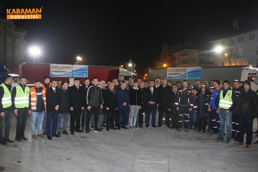 Karaman'da Elazığ'daki depremzedeler İçin yardım kampanyası 18