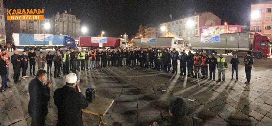 Karaman'da Elazığ'daki depremzedeler İçin yardım kampanyası 23