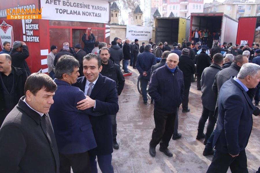 Karaman'da Elazığ'daki depremzedeler İçin yardım kampanyası 30