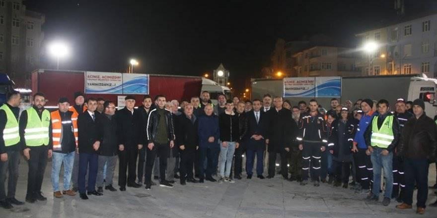 Karaman'da Elazığ'daki depremzedeler İçin yardım kampanyası