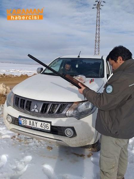 Karaman'da Kaçak Ve Usulsüz Avlanmaya 56 Bin 940 Lira Ceza 1