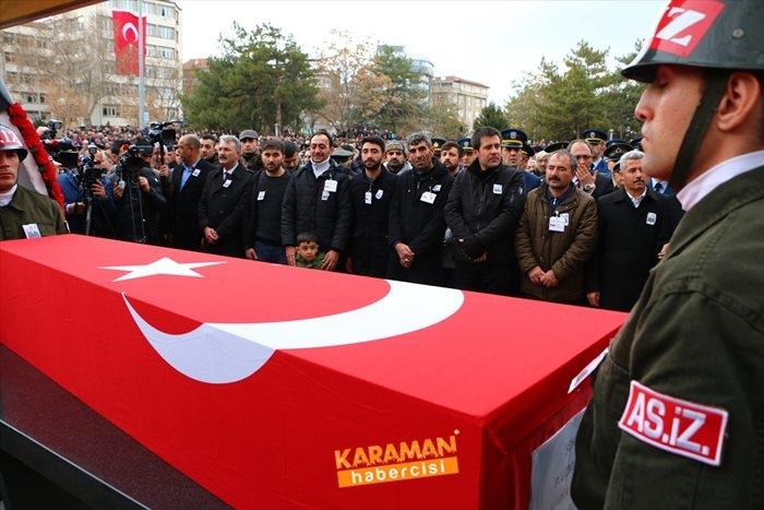 Aksaraylı Piyade Uzman Onbaşı Kadir Yıldız Cenaze Töreni 15