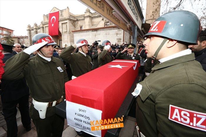 Aksaraylı Piyade Uzman Onbaşı Kadir Yıldız Cenaze Töreni 18