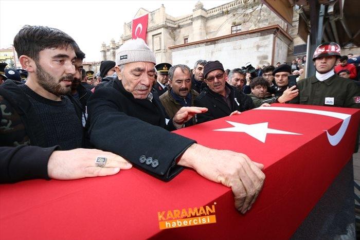 Aksaraylı Piyade Uzman Onbaşı Kadir Yıldız Cenaze Töreni 3