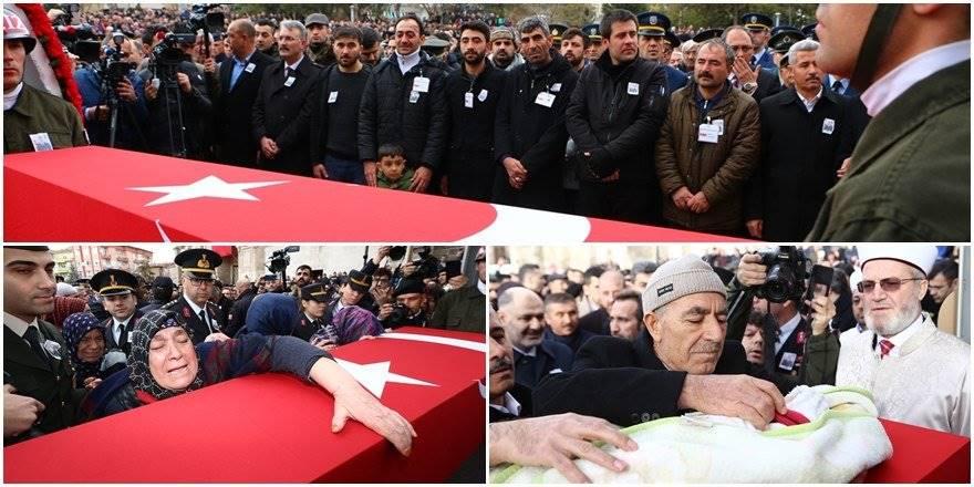 Aksaraylı Piyade Uzman Onbaşı Kadir Yıldız Cenaze Töreni