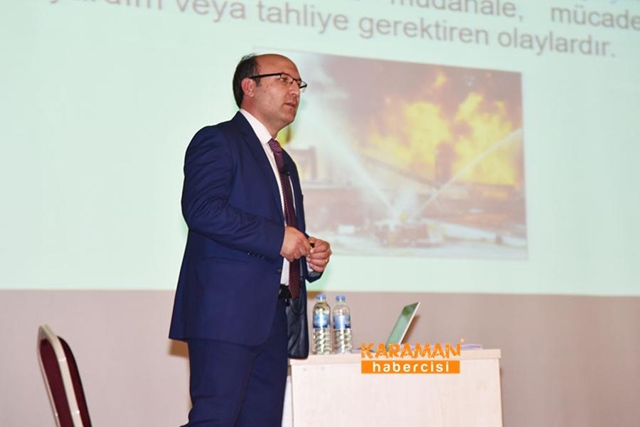 KMÜ Personeline İş Sağlığı Ve Güvenliği Eğitimi 4