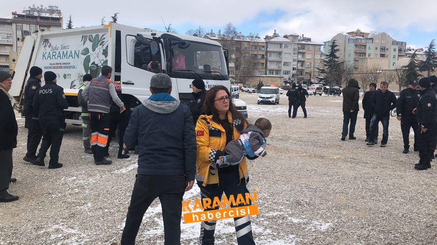 Karaman'da Araç Yangını 15