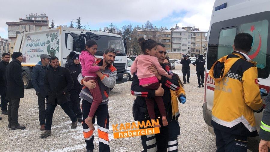 Karaman'da Araç Yangını 9