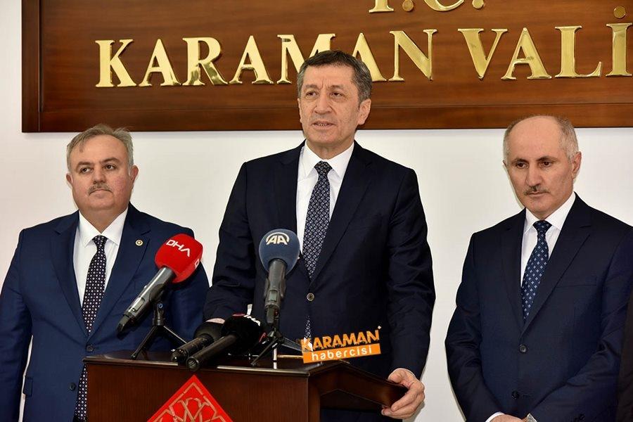 Milli Eğitim Bakanı Ziya Selçuk'un Karaman Programı 1