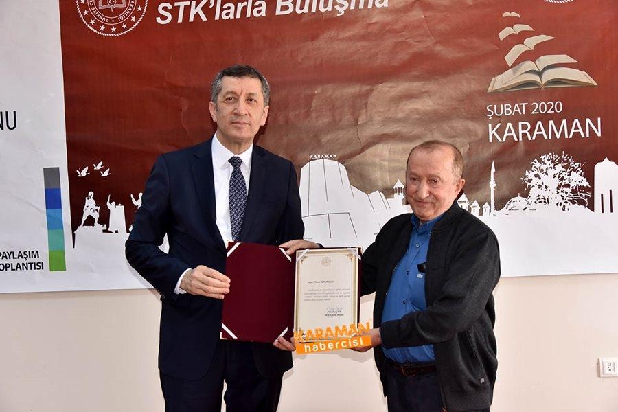 Milli Eğitim Bakanı Ziya Selçuk'un Karaman Programı 11
