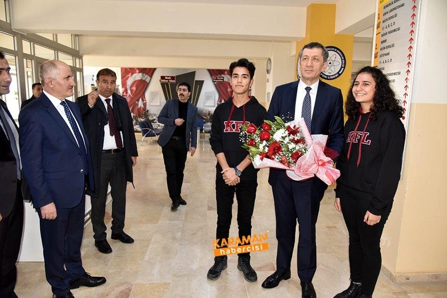 Milli Eğitim Bakanı Ziya Selçuk'un Karaman Programı 17