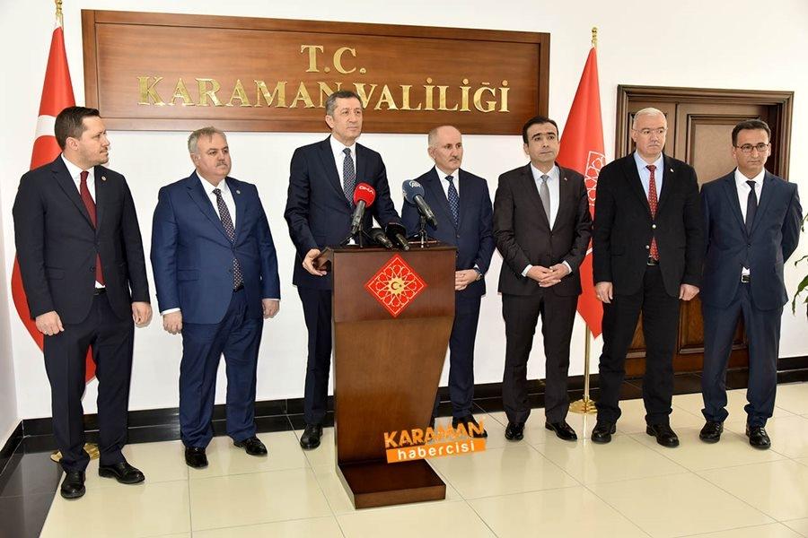 Milli Eğitim Bakanı Ziya Selçuk'un Karaman Programı 2