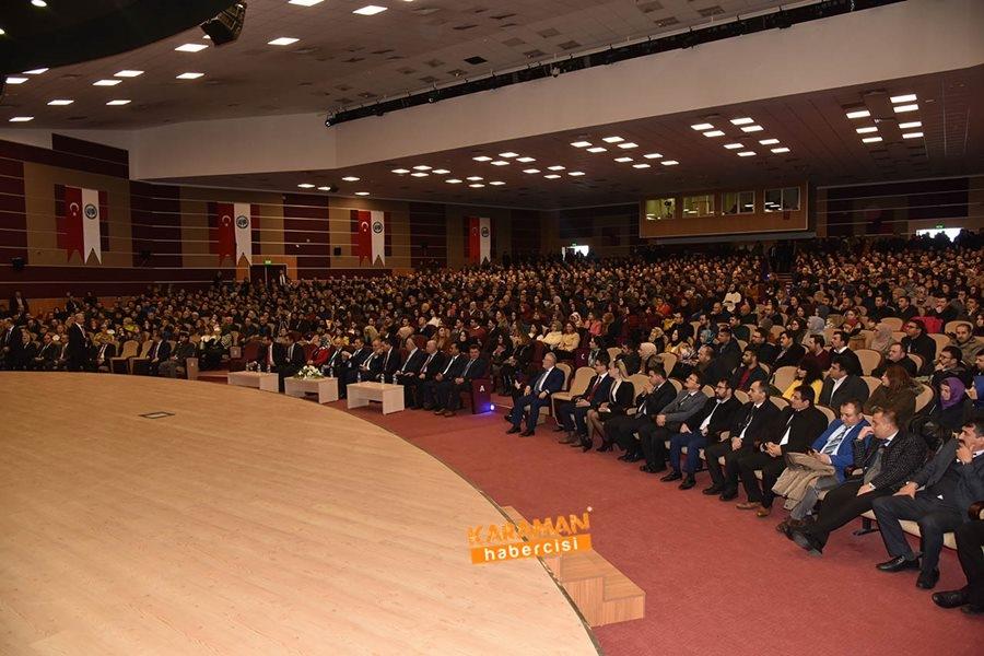 Milli Eğitim Bakanı Ziya Selçuk'un Karaman Programı 22