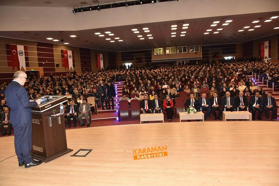 Milli Eğitim Bakanı Ziya Selçuk'un Karaman Programı 26