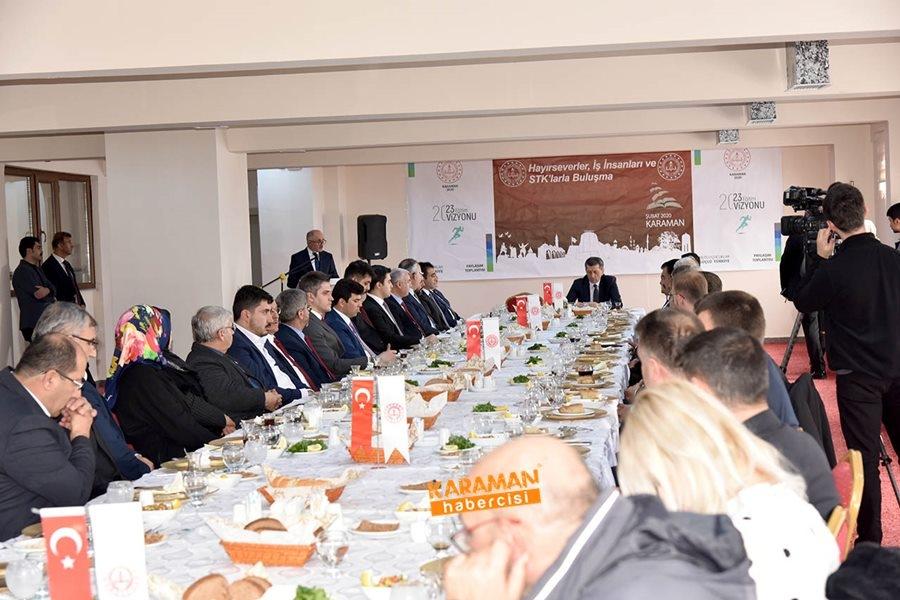 Milli Eğitim Bakanı Ziya Selçuk'un Karaman Programı 6