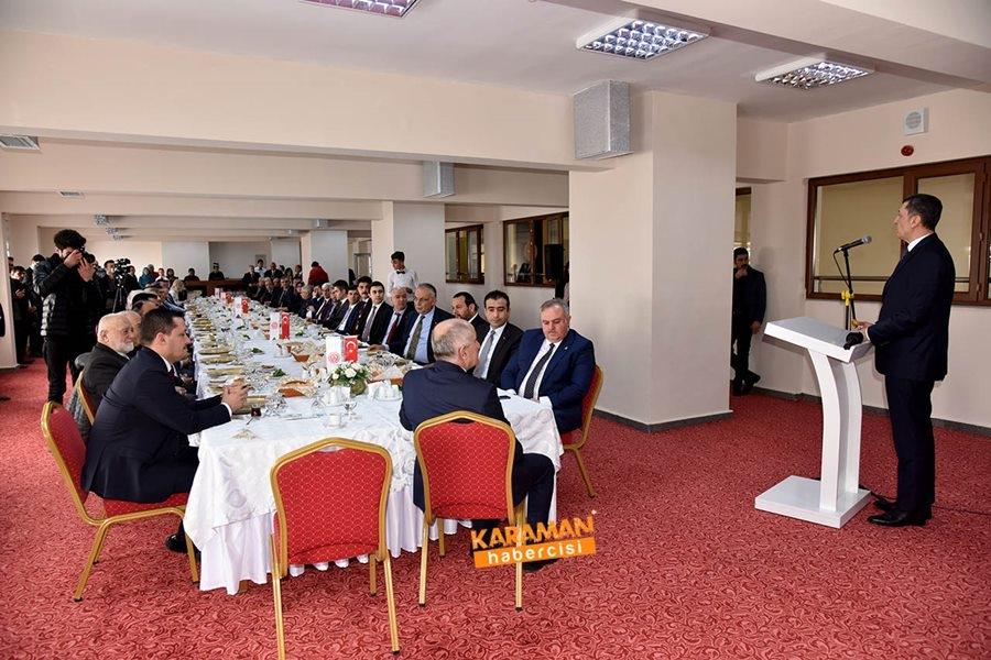 Milli Eğitim Bakanı Ziya Selçuk'un Karaman Programı 8