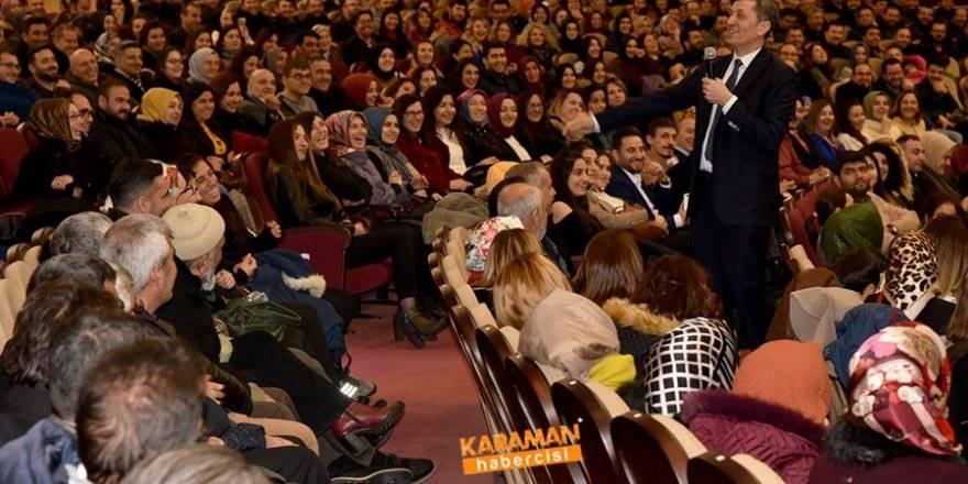 Milli Eğitim Bakanı Ziya Selçuk'un Karaman Programı