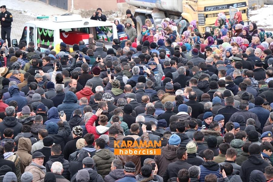 İdlib Şehidi Uzman Onbaşı Enes Alper Son Yolculuğuna Uğurlandı 15
