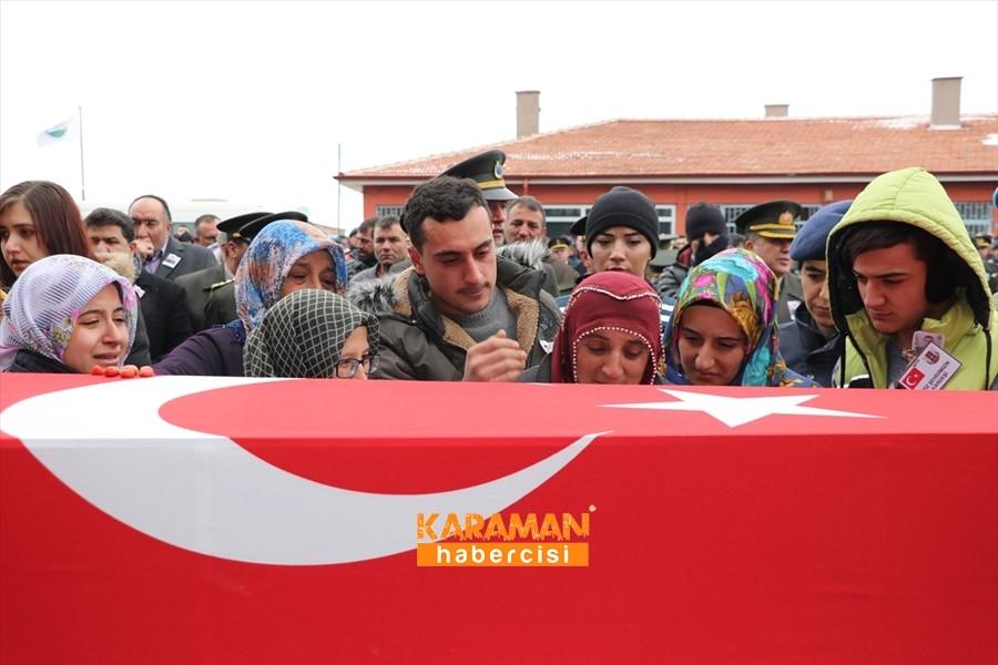 İdlib Şehidi Uzman Onbaşı Enes Alper Son Yolculuğuna Uğurlandı 8