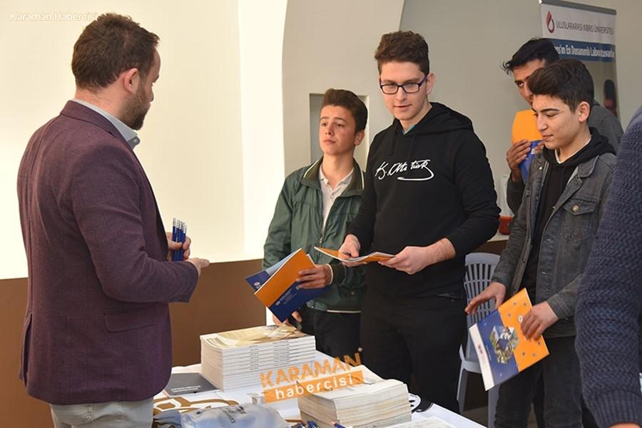 KMÜ Silifke'de Öğrencilerle Buluştu 2