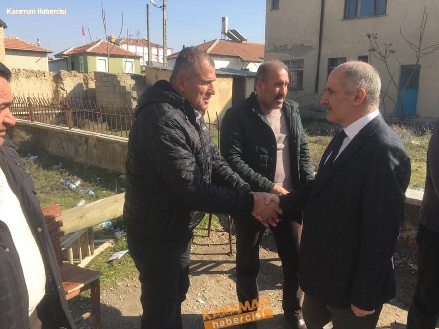 Vali Meral'den Ekinözü Köyü ile Akçaşehir Kasabasına Ziyaret 1