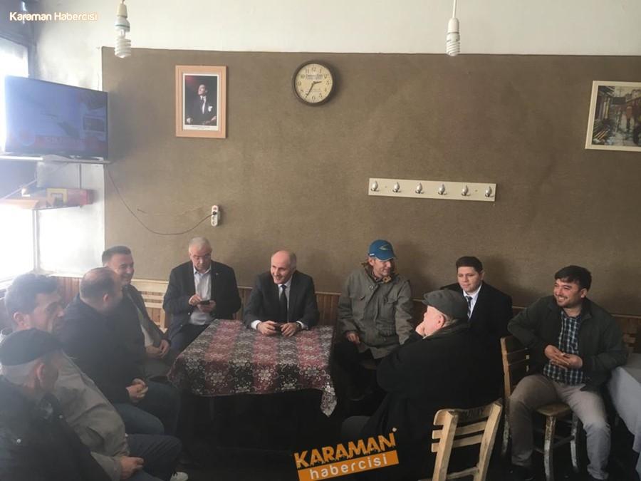 Vali Meral'den Ekinözü Köyü ile Akçaşehir Kasabasına Ziyaret 4